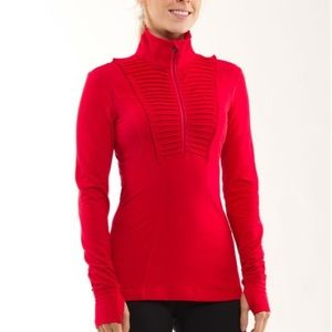 Lululemon Run: Your Heart Out Pullover Currant